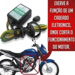 Kit Bloqueador Moto Carro Anti Furto Cadeado Eletrônico Cdi Safe