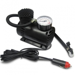 Mini Compressor De Ar Automotivo pneu Carro Moto Bicicleta 12V