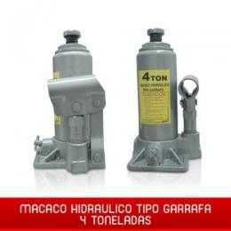 Mini Macaco Hidraulico automotivo 4 Toneladas Garrafa 4t
