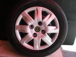 Kit 4 Calotas Gol 2012 Aro 13  Volkswagen - Alternativo - Grid
