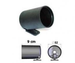 Copo para Relógio52mm Instrumento Manômetro PVC Preto