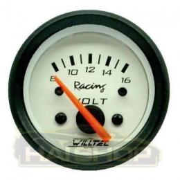 Manômetros Willtec Plus 52mm Relogio Voltímetro