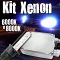 Kit HID Xenon 6000K ou 8000K Lampada H1 Farol de Milha