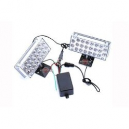 Kit Strobo 44 Leds Xenon Super Brancos White Type R