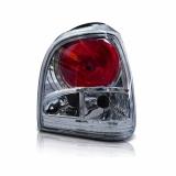 Lanterna tuning Traseira Gol Bola 95 96 97 98 99 G2 Fumê Cristal