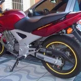 Friso Adesivo Refletivo Curvo Moto Honda Hornet Cb Gsx Diversas