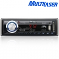 Auto Radio Fm MP3 Player Multilaser Wave Entradas SD Card, USB