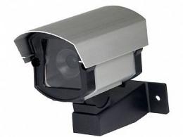 Camera Falsa com Led P/ Segurança Carros garagem Residencias