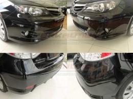 Kit Bumper Protetor Parachoque universal preto ou transparente