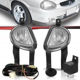 Kit Farol de Milha Corsa Pick Up Sedan 00 a 02 Classic 03