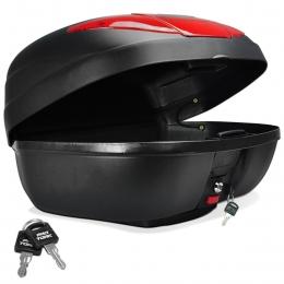 Bau P/ Moto Bauleto 45 Litro Motocicleta Motoboy Lente defletor