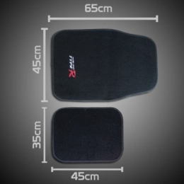 Kit Tapete Carpete Type R universal Gol Palio celta Corsa