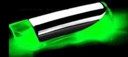 Manopla Do Freio De Mão Iluminado Neon Led Azul Vermelho e Verde