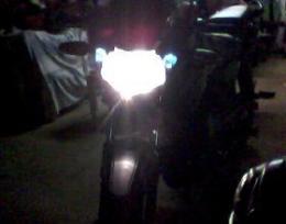 Lampada xenon super branca Moto Yamaha Honda Suzuky Biz