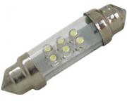 Lampada torpedo led xenon 42mm